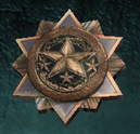 Gold bp medallion