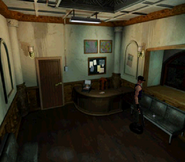 RE2 Small Key Waiting room 2F location