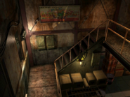 Resident Evil 3 background - Uptown - warehouse j - R10103