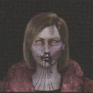Degeneration Zombie face model 22