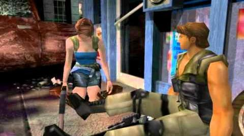 Resident Evil 3 Nemesis cutscenes - Carlos' fight