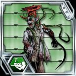 BIOHAZARD Clan Master - BOW card - Green Zombie