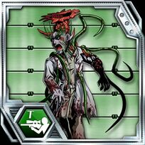 BIOHAZARD Clan Master - BOW card - Green Zombie