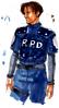BIOHAZARD 1.5 concept art - Leon RPD 02
