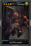 Deadman's Cross - Afflicted card
