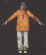 Degeneration Zombie body model 53