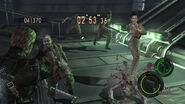 ResidentEvil 5 PS4 XboxOne The Mercenaries United Excella and Albert Wesker in-game 2
