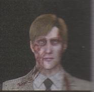 Degeneration Zombie face model 6
