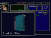 RE2 Rookie files location