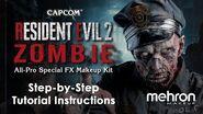 Resident Evil™ 2 Zombie Makeup Kit Tutorial-0