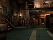 Resident Evil 3 background - Uptown - warehouse y - R10117