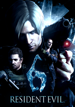 Resident evil 6 poster by jevangood-d5ja3uu