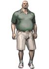 Resident evil outbreak mark wilkins artwork concept art alternate costume
