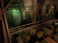 Resident Evil 3 background - Uptown - warehouse i - R10107