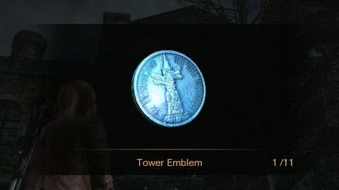 Resident Evil Revelations 2 Episode 4 - All Tower Emblem Locations