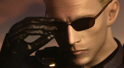 Albert Wesker Resident Evil Darkside Chronicles Appearance