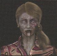 Degeneration Zombie face model 8