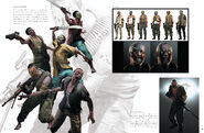 Resident Evil 6 Artworks - Creature Design (9)