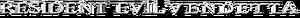 Resident Evil Vendetta logo