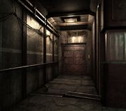 Arklay factory - Laboratory passage background 1