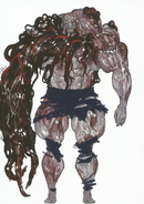 BIOHAZARD REVELATIONS 2 Concept Guide - Monster Neil concept art 2