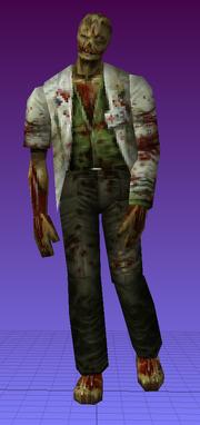 RE2MV - Male Zombie E