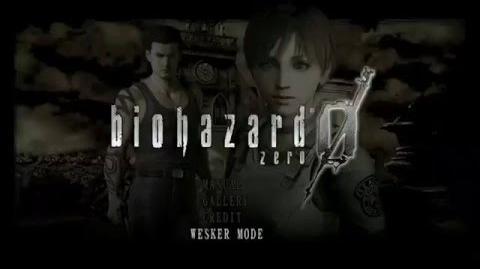 RESIDENT EVIL HD Remaster - New Wesker Mode Gameplay presentation