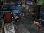 Resident Evil 3 background - Uptown - boulevard e1 - R10304