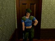 Jill alternate uniform - Sega Saturn
