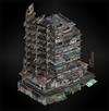 Building 2 (lanshiang) diorama