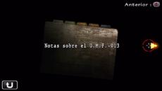 Notas sobre el U.M.F.-013