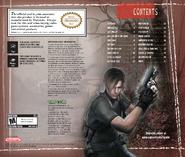 Resident Evil 4 GameCube manual 3