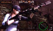 Mercenaries 3D - Jill gameplay 3