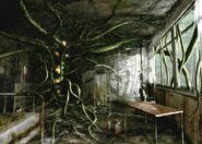 Resident Evil Outbreak Artwork Hospital Hopital Arklay Abandonned (8)