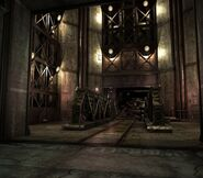 Arklay factory - Laboratory passage background 4