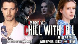 Chill with Jill as Jill plays Carlos with Carlos - RE3 Actors play RESIDENT EVIL 3 PART 3