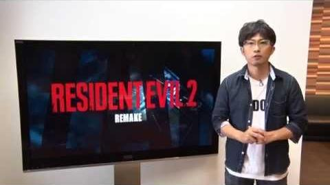 """Resident Evil 2 Remake – Special Message from Producer """"H"""""""