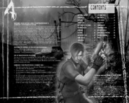 Resident Evil 4 PlayStation 2 manual 2