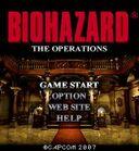 BIOHAZARD THE OPERATIONS