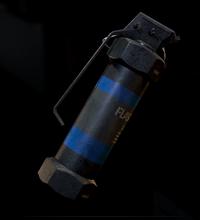 RE2 remake Flash Grenade