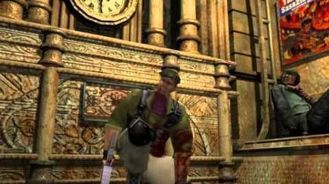 Resident Evil 3 Nemesis cutscenes - Don't Come Any Closer! (alternate)