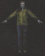 Degeneration Zombie body model 41