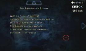Revelación de Ben Bertolucci
