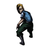 BIOHAZARD Clan Master - Character animation - Edward 4