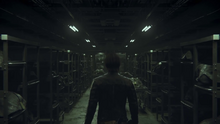 Biohazard Vendetta teaser trailer - Leon Scott Kennedy in morgue