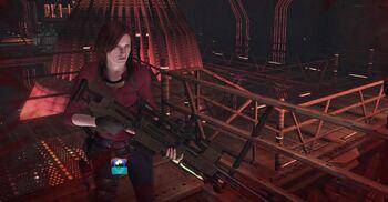 Claire & Anti Materiel Rifle