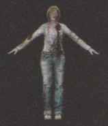 Degeneration Zombie body model 16