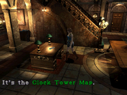 RE3 Clock Tower Map location