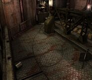 Arklay factory - Laboratory passage background 6