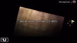 Notas sobre Tyrant (T-002)